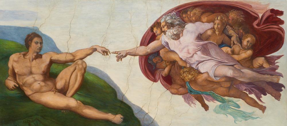 Michelangelo malte Pornographie!?